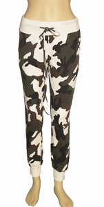 Sensi Wear sale, camouflage sweatpants offwhite maat S