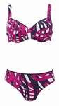 Anita sale comfort,  E cup beugelbikini met paars  cup 44E
