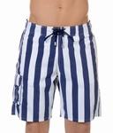 Hom sale Island Resort long beach boxer, streep marine wit